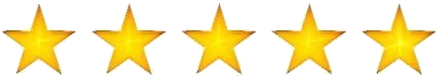 picture of 5 gold stars